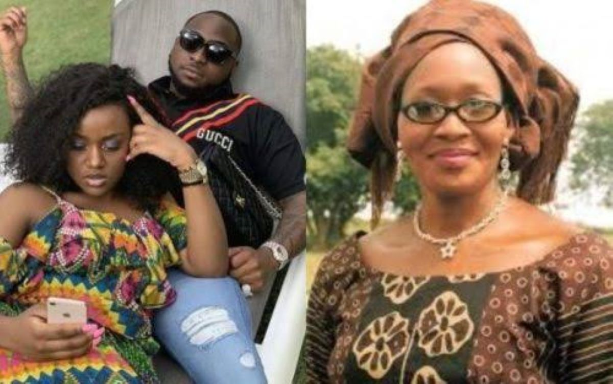 Chioma packs out of Davido's mansion