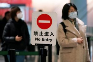 China restricts entry for foreigners